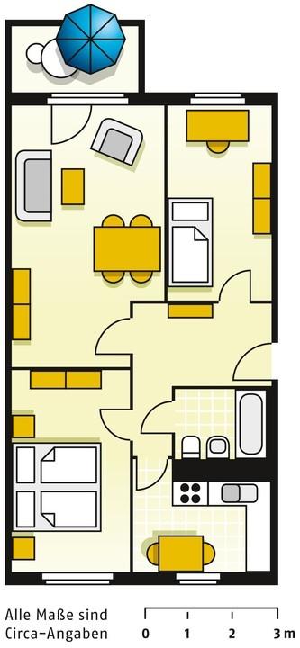 Raum Wohnung Cottbus